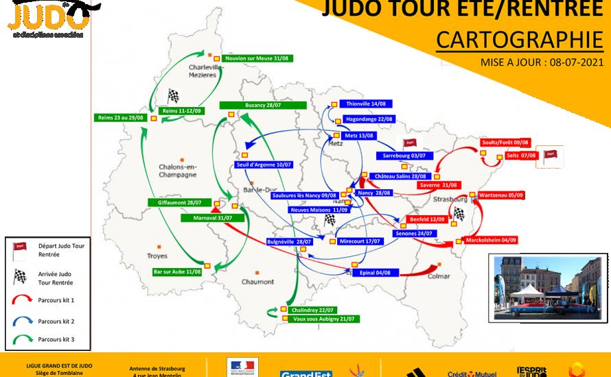 JUDO TOUR ETE - Saverne