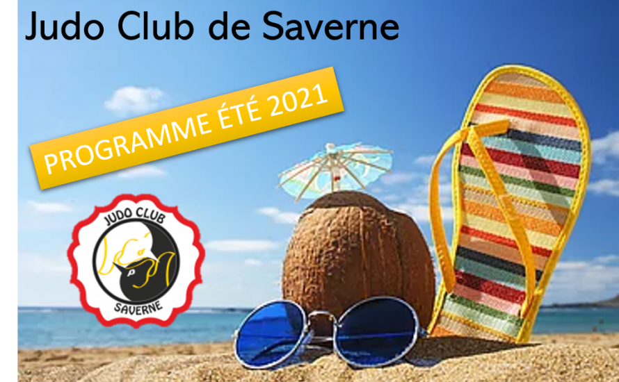 Programme ETE Judo Club de Saverne