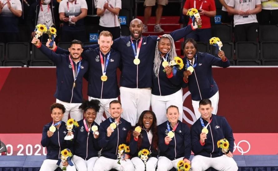 BRAVO à nos médaillés aux Jeux Olympiques de TOKYO 2020