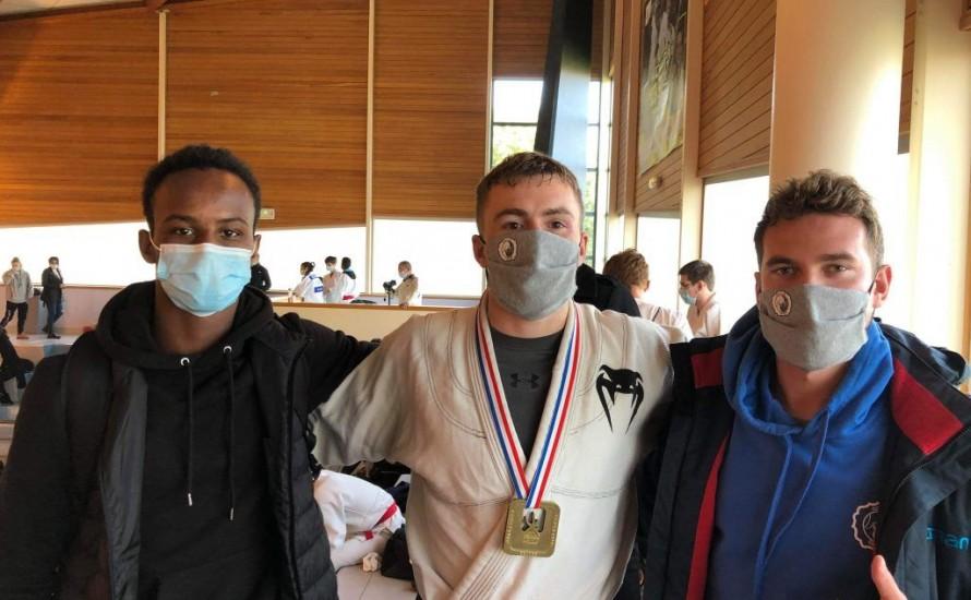 Médaille de Bronze au Championnat de France Ne-Waza