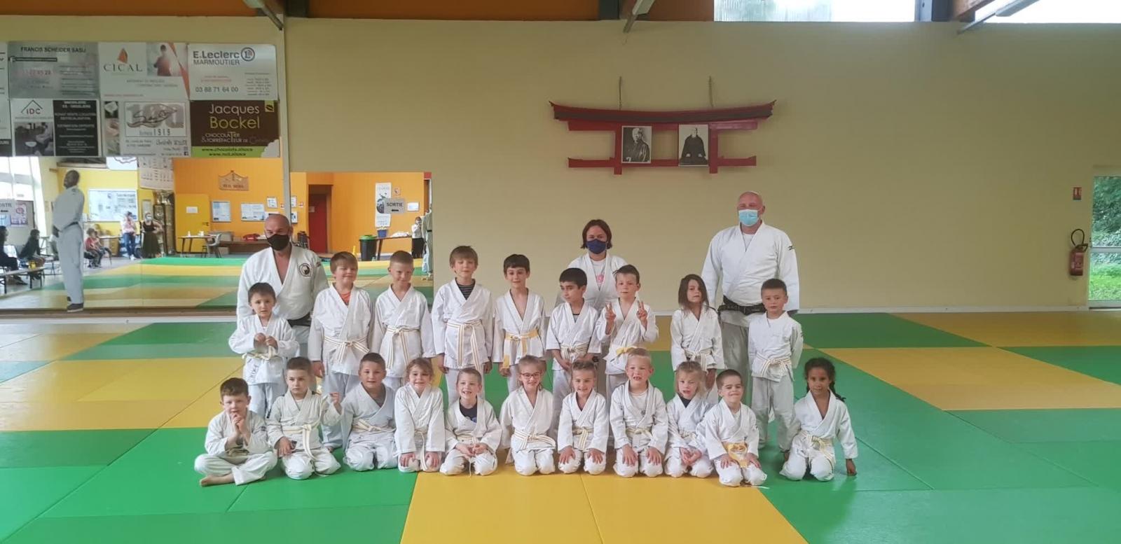 Stage Judo Eveil 1 et 2 et Mini-poussins du 07 Juillet 2021